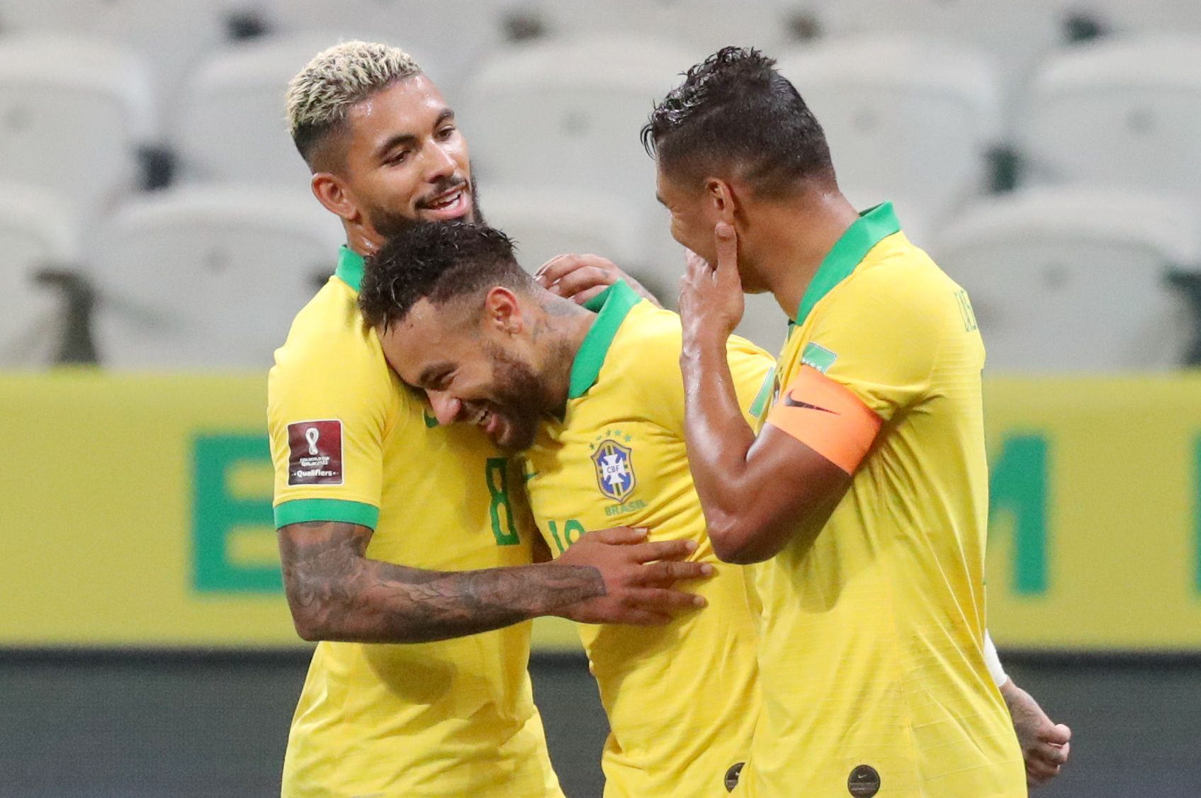 Neymar busca convertirse en el segundo máximo goleador histórico de la Selección de Brasil (REUTERS/Amanda Perobelli/Pool)