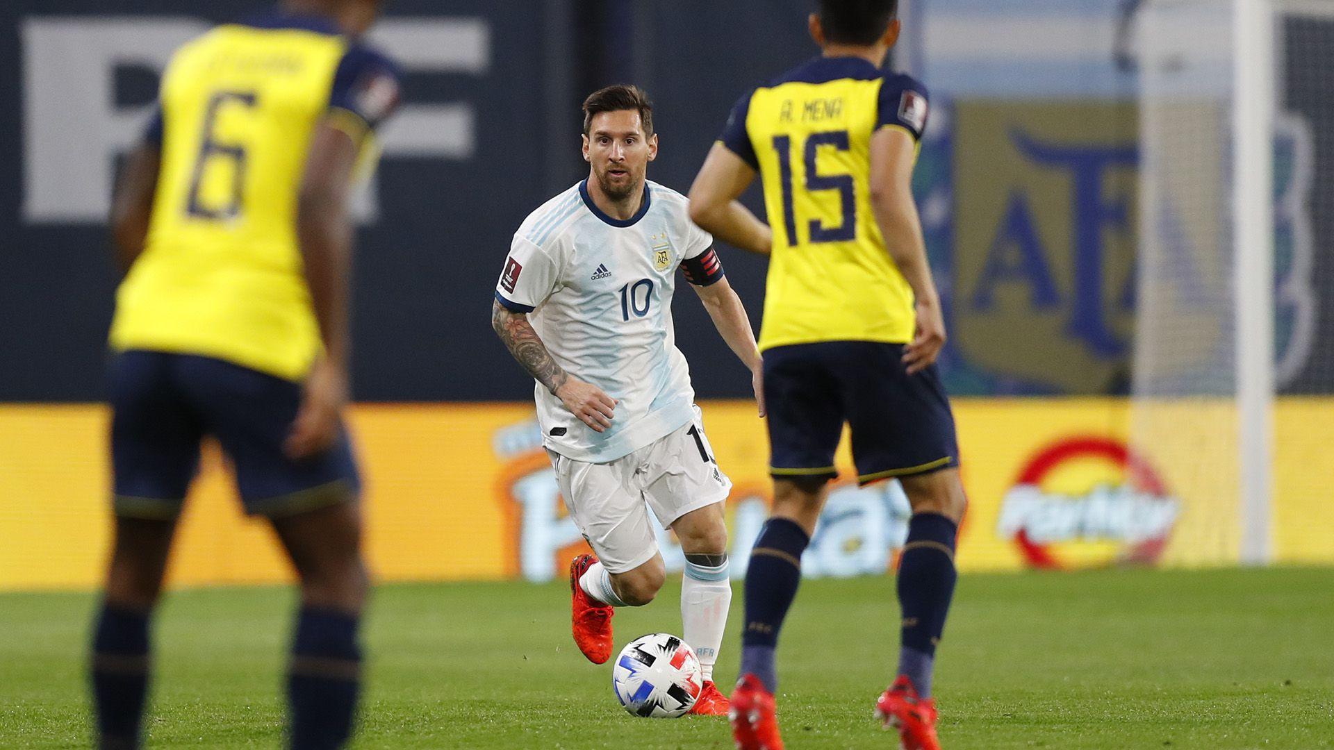 Argentina vs Ecuador Eliminatorias