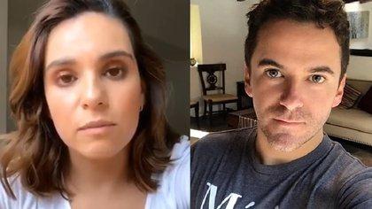 Tania Rincón y Mauricio Mancera hoy son muy buenos amigos (IG: taniarin / maumancera)