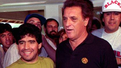 El Coco no quiere escuchar nada sobre la muerte Maradona.