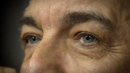 """""""Yo creo que las miradas son como un registro de ADN"""", afirma Ricardo Darín quizá por eso el público percibe una mirada acogedora, inteligente y cálida, (Gustavo Gavotti)"""