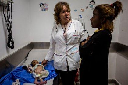 La mortalidad infantil alcanzó cifras alarmantes en Venezuela.