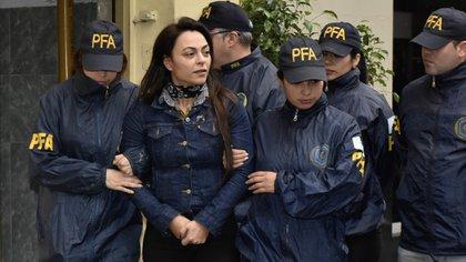 Carolina Pochetti, viuda de Daniel Muñoz (foto Adrián Escandar)