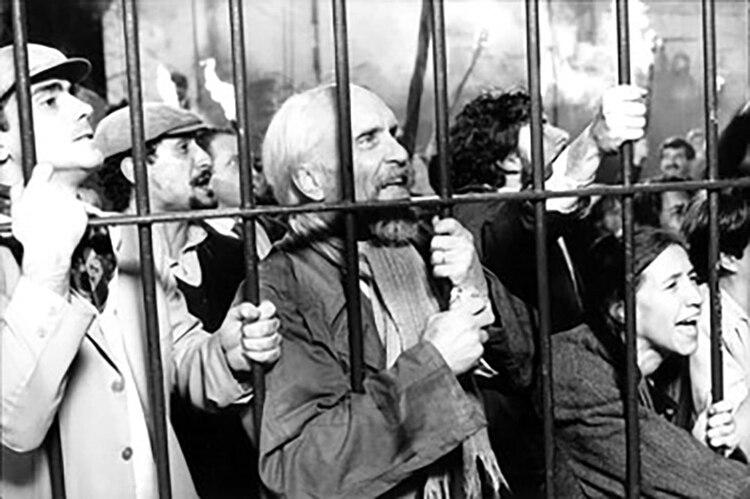 Robert Duvall en una escena del film