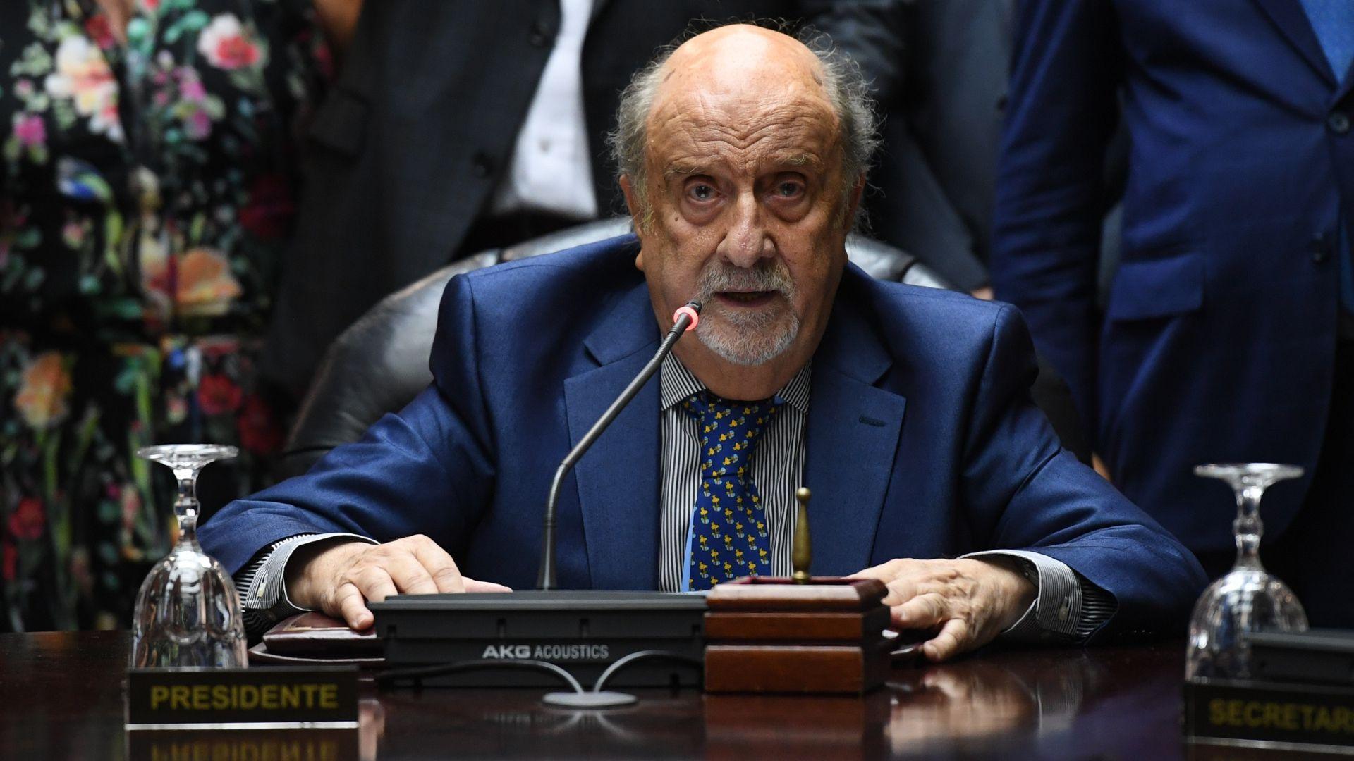 El juez Ricardo Recondo, clave en la negociación política (Maximiliano Luna)