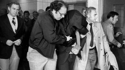 Mark David Chapman, después del asesinato de John Lennon (Getty Images)