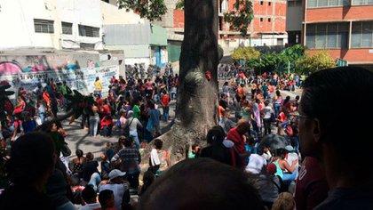 Protestas frente al centro de reclusión