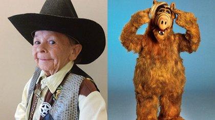 """El actor húngaro Michu Meszaros se convirtió en ALF. En un importante circo era presentado como""""el hombre más pequeño del mundo"""": medía 83 centímetros. Murió por problemas coronarios en 2016. Tenía 76 años"""