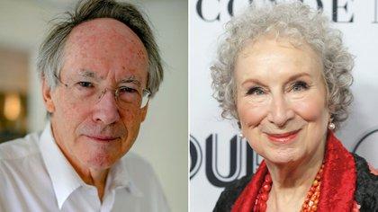 Ian McEwan y Margaret Atwood