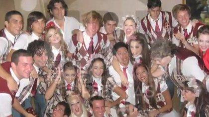 El elenco de Patito Feo en Nicaragua