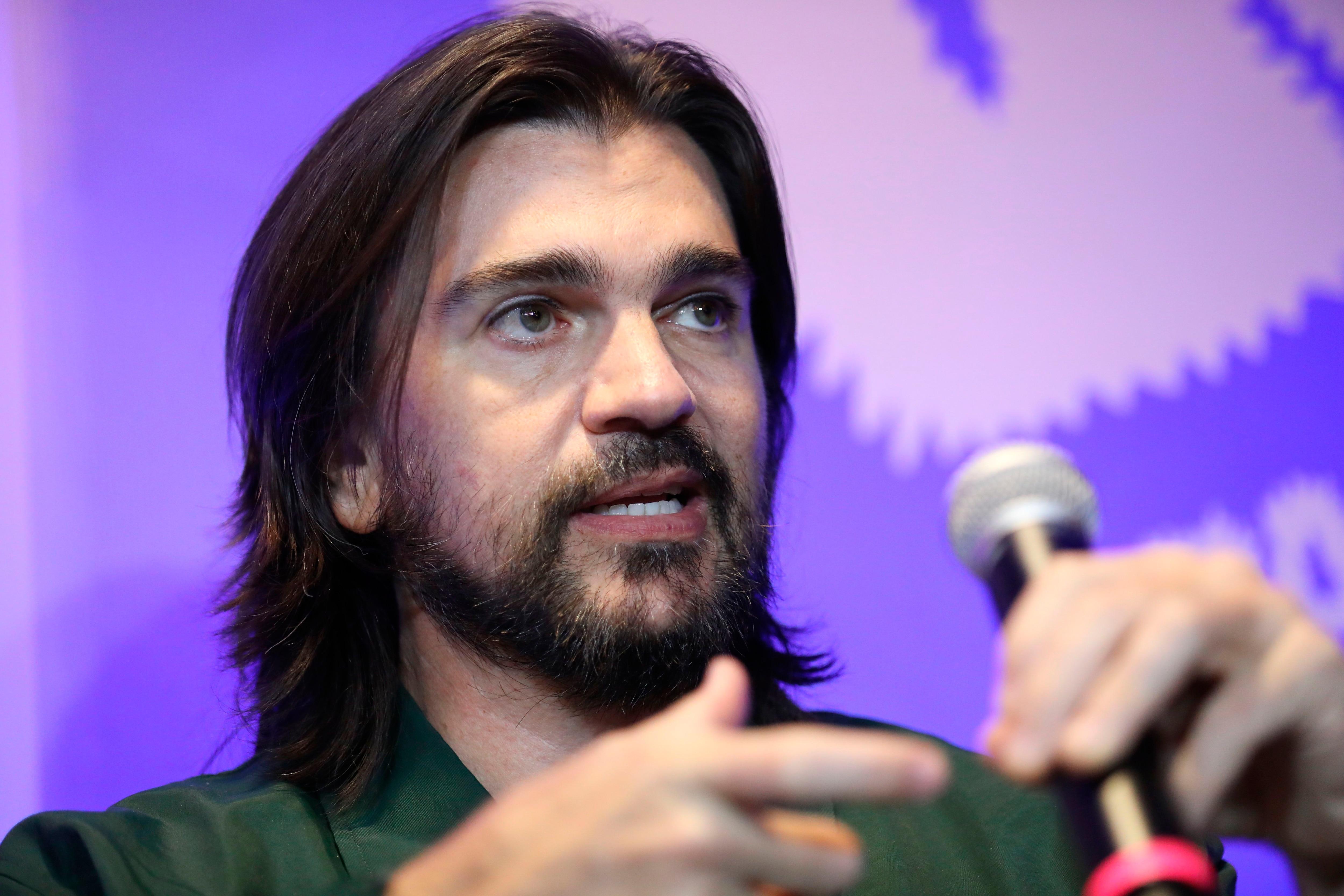 El cantante paisa y ganador de dos premios Grammy: Juanes / (EFE / Carlos Ortega).