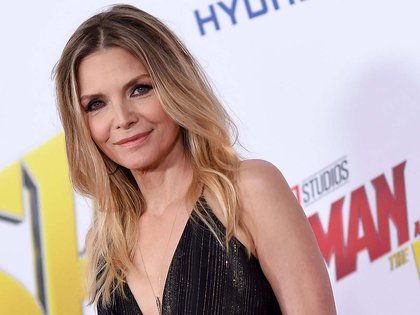 "US actress Michelle Pfeiffer attends the World Premiere of Marvel Studios' ""Ant-Man and The Wasp"" at the El Capitan Theater, on June 25, 2018, in Hollywood, California. / AFP PHOTO / Valerie MACON"