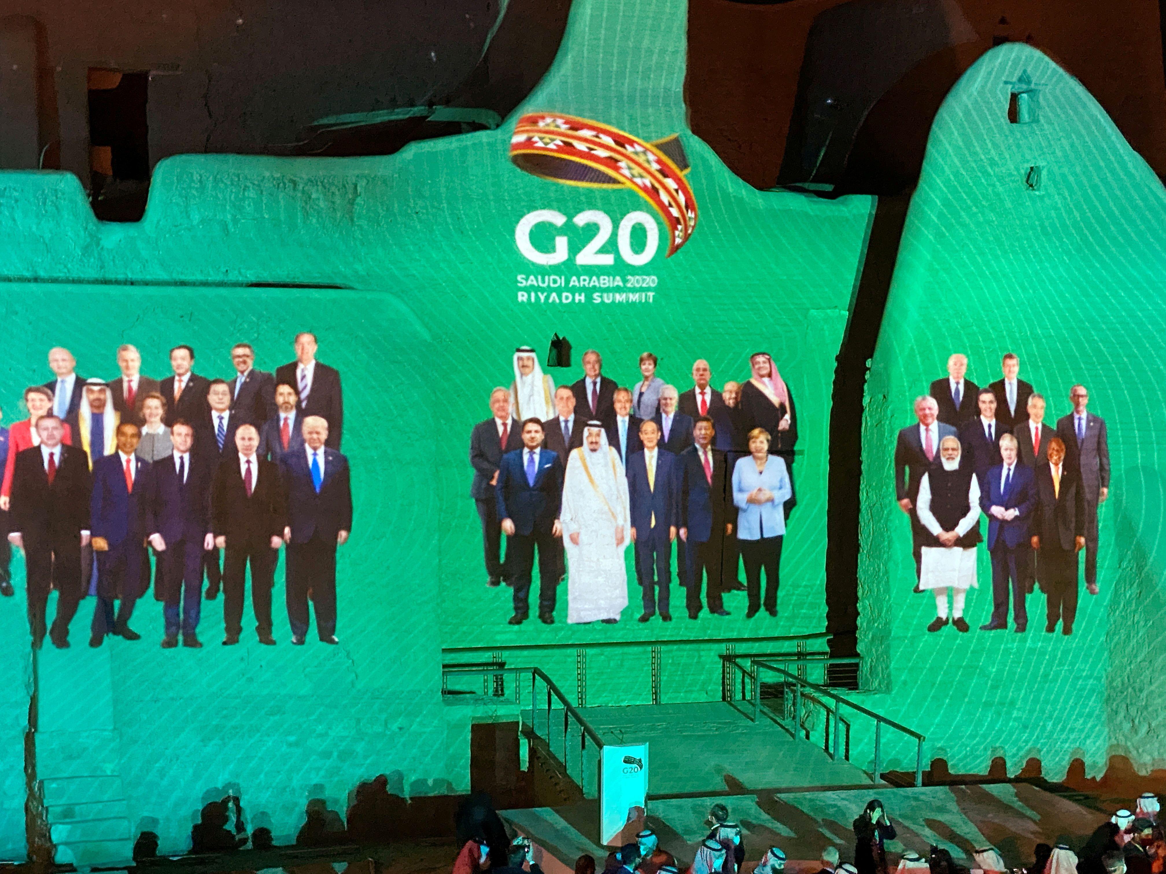 """La """"foto de familia"""" de los líderes de las 20 naciones del grupo (Reuters)"""