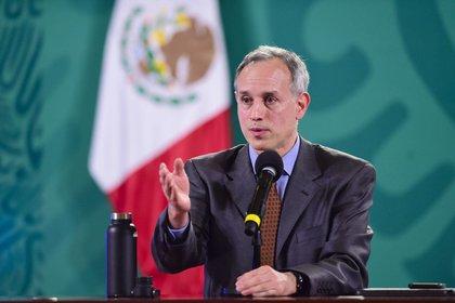 Le responsable a annoncé qu'il présentait des symptômes légers et qu'il continuerait à travailler à domicile. Photo: Présidence du Mexique.