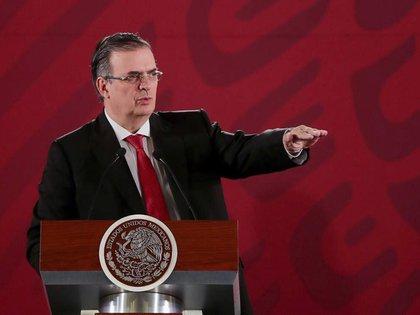 Marcelo Ebrard Casaubón, canciller mexicano. (Foto: Cortesía Presidencia)