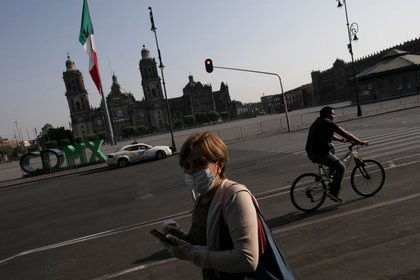 México ha reportado mil 688 contagios y 60 muertos hasta el tercer día del mes de abril (Foto: Reuters/Carlos Jasso)