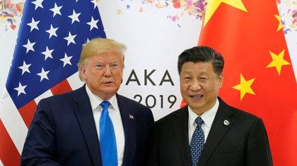 Los presidentes de Estados Unidos, Donald Trump, y China, Xi Jinping (Reuters)