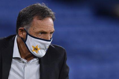 El entrenador de Boca Juniors, Miguel Ángel Russo. EFE/Marcelo Endelli/Archivo
