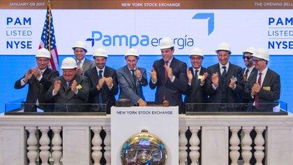 Pampa Energía y un toque de campana en la Bolsa de Nueva York