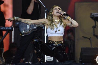 """La cantante esta promocionando """"Corazones de plastico"""" (Foto: EFE / EPA / NEIL HALL)"""