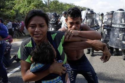 Los migrantes centroamericanos han acusado a México por los malos tratos y las condiciones de los refugios migratorios (Foto: Andrés Martínez Casares/ Reuters)