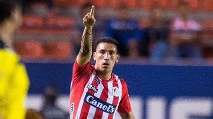 Centurión aseguró que quiere romper su préstamos con Atlético San Luis (adrianricardo1993)