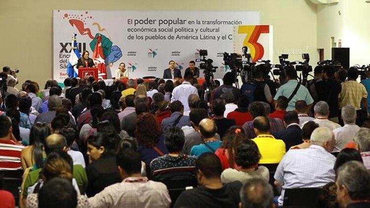 Nicolás Maduro le envió un mensaje directo al Foro de Sao Paulo (laprensagrafica.com)