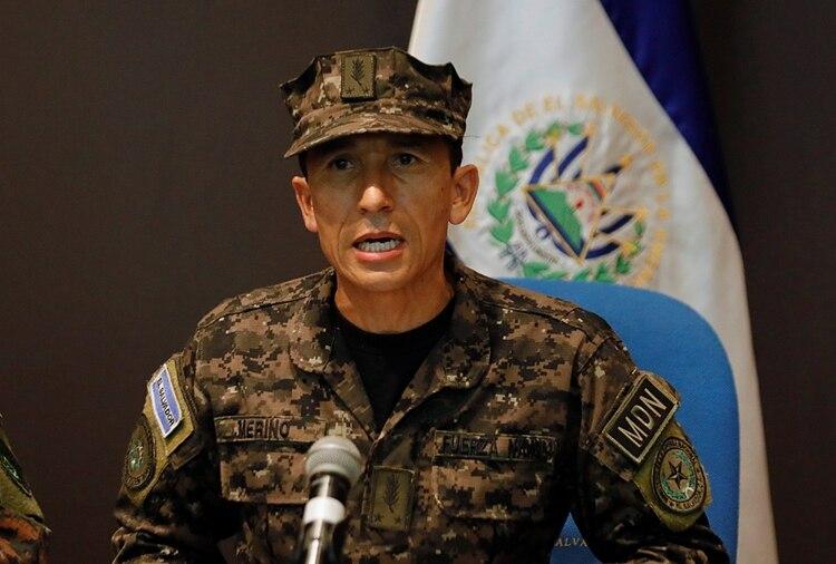 El Ministro de Defensa de El Salvador, René Francis Merino Monroy (Reuters)