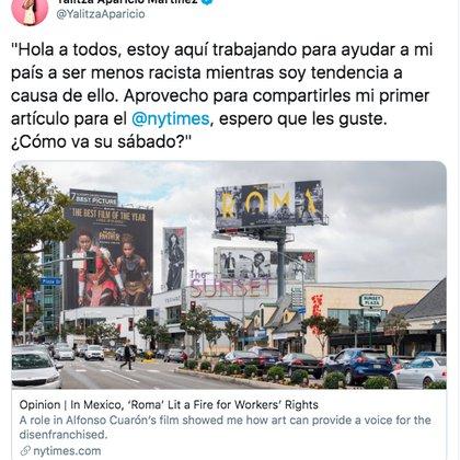 (Twitter: @YalitzaAparicio)