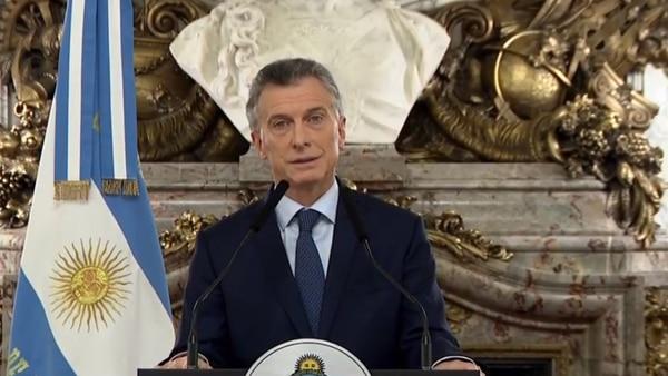 """Mauricio Macri: """"Estamos en emergencia"""""""