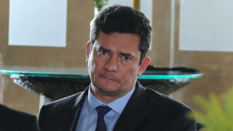 El ex juez y actual ministro de Justicia y Seguridad de Brasil, Sergio Moro (AFP)