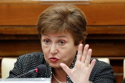 Kristalina Georgieva, directora del Fondo Monetario Internacional (REUTERS/Remo Casilli)