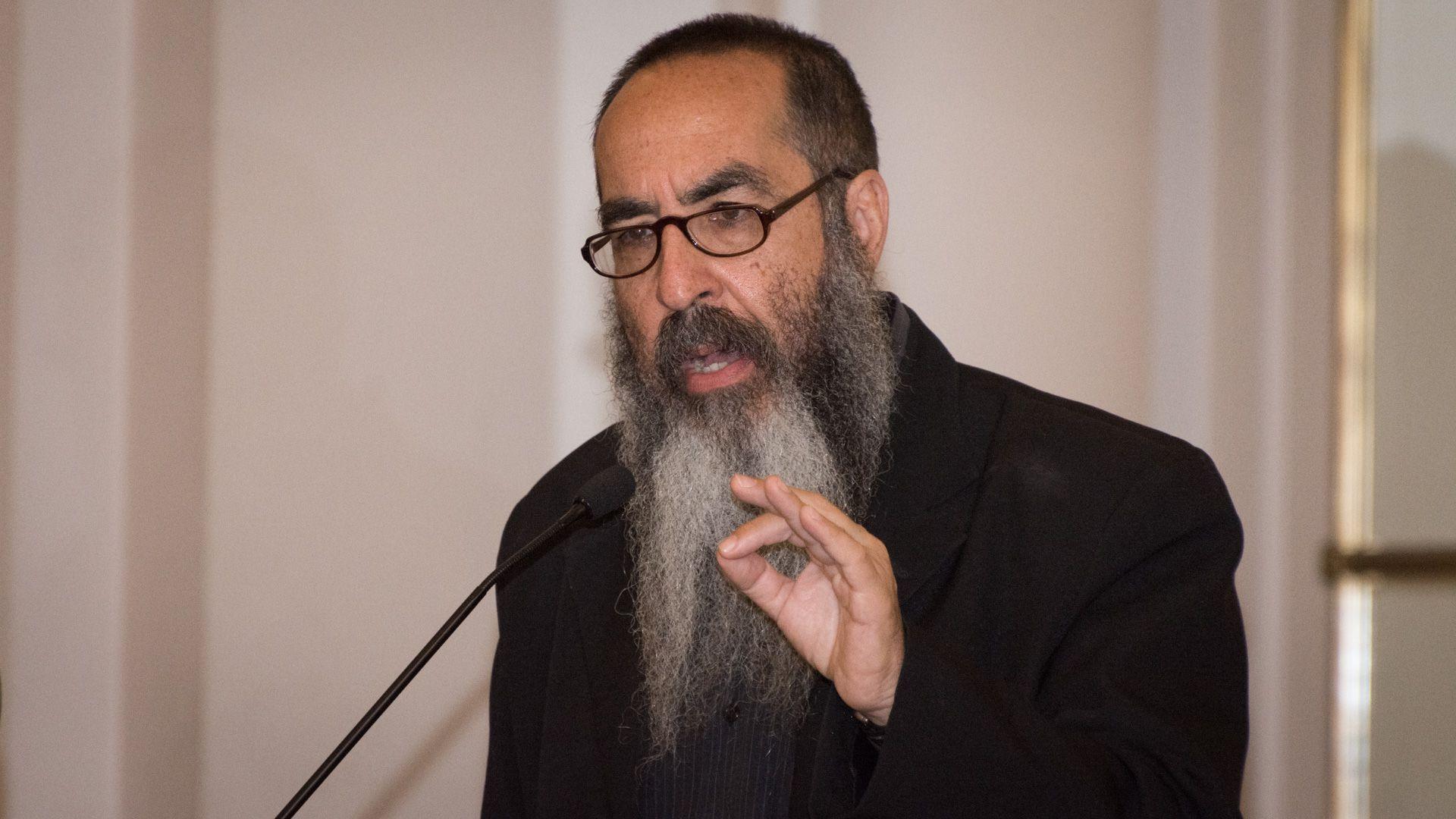 El rabino Daniel Goldman, vicepresidente segundo del Instituto de Diálogo Interreligioso