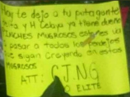 La guerra entre el Cártel Santa Rosa de Lima y el CJNG ha dejado un baño de sangre en la entidad (Foto: Especial)