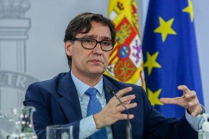 El ministro de Sanidad, Salvador Illa EUROPA PRESS/R.Rubio.POOL - Europa Press
