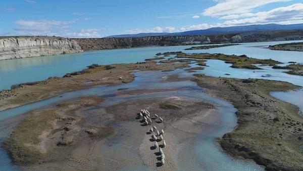 La zona que será cubierta por agua por las represas (Foto: Axel Indik)