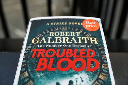"""Troubled Blood"", la novela de JK Rowling escrita bajo el seudónimo de Robert Galbraith (Reuters)"