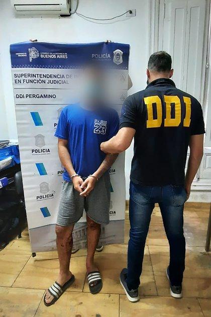 Enzo Pajón, detenido por el ataque