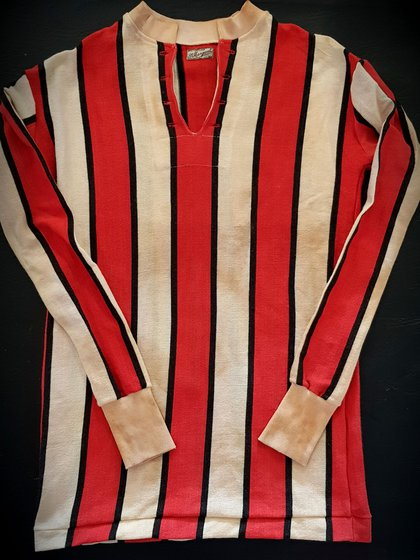 Una verdadera reliquia: una camiseta de River de la marca St. Margaret del año 1920