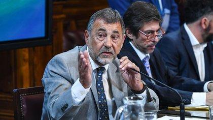Carlos Caserio presidente de la Comisión de Presupuesto y Hacienda del Senado  Fotos: Sofia Areco / Comunicación Senado