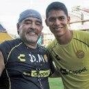 Los padres de Diego Armando Barbosa le pusieron ese nombre en honor a Diego Armando Maradona (Foto: Archivo)
