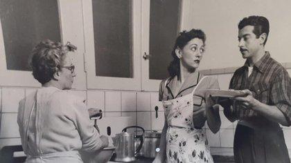 Hilda debutó como actriz a los 21 años