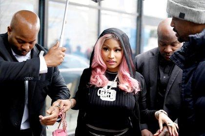 Nicki Minaj (NTB Scanpix/Ole Berg-Rusten/via REUTERS)