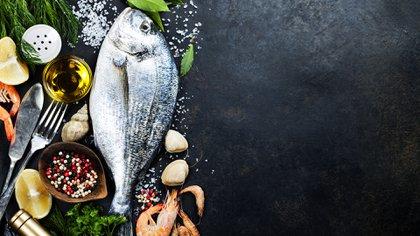 El pescado es un alimento de mar, altamente rico y nutritivo (Shutterstock)
