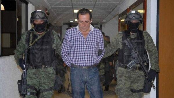 Beltrán Leyva, detenido en 2014