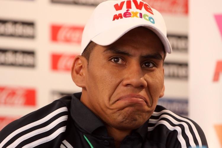 En el primer caso importante para la Femexfut se vio involucrado Carlos Salcido, uno de los futbolistas referentes de su generación. (Foto: Moisés Pablo/Cuartoscuro)