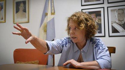 Chiche Duhalde fue la impulsora del proyecto