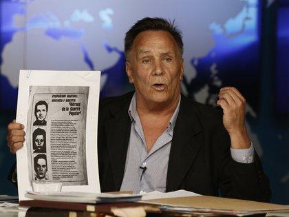 """José D'Angelo, autor de """"Mentirás tus muertos"""" (Agustin Marcarian)"""