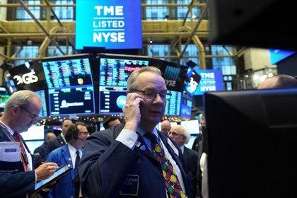 Wall Street vive otra jornada de inicio complicado por la caída de las tecnológicas (REUTERS/Bryan R Smith)