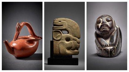 Saqueo arqueológico: el INAH denunció ante la FGR una subasta de tesoros prehispánicos de México en Nueva York